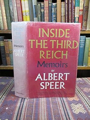 Inside the Third Reich, Memoirs by Albert: Speer, Albert; Translated