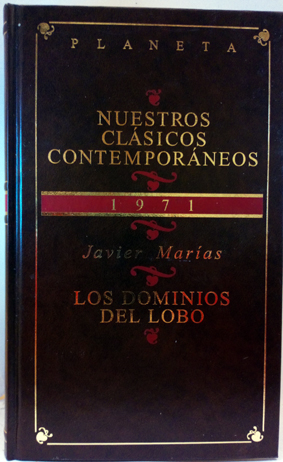 Los dominios del lobo: Marías, Javier