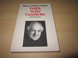 Politik in der Geschichte: Wehler, Hans-Ulrich: