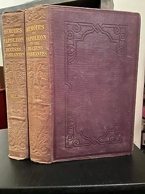 Memoirs of Napoleon, His Court and Family.: NAPOLEON) D'ABRANTES, Duchess