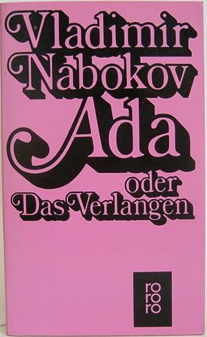 Ada oder Das Verlangen. Aus den Analen: Nabokov, Vladimir: