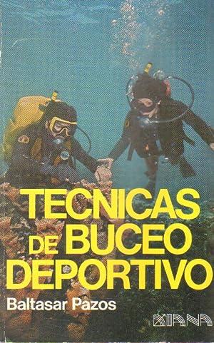 Imagen del vendedor de TECNICAS DE BUCEO DEPORTIVO a la venta por Librería Raimundo