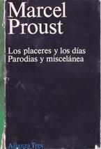 Los placeres y los días parodias y: Proust, Marcel