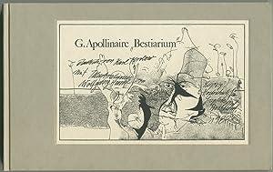 Bestiarium. Ein Poem. Illustrationen von Wolfgang Henne.: Apollinaire, Guillaume: