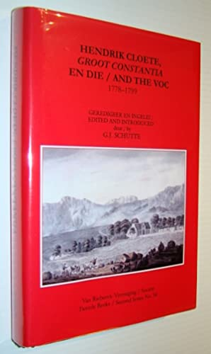 The Cape Diaries of Lady Anne Barnard 1799-1800, Volume One (1) Only, Second Series No. 29