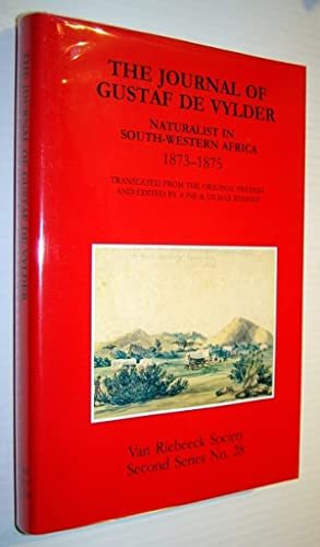 The Journal of Gustaf De Vylder - Naturalist in South-Western Africa 1873-1875, Second Series No. 28