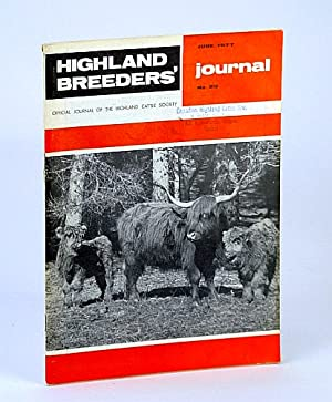 Highland Breeders' Journal - Official Journal of the Highland Cattle Society, June 1977, No. 20