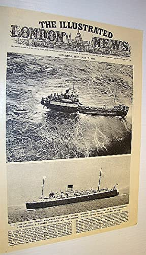 The Illustrated London News (ILN) February 7, 1953 - Loss of the Car Ferry 'Princess Victoria' / ...