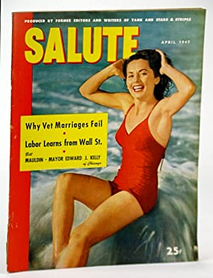 Salute Magazine, Apr. (April) 1947, Vol. 2,: Kamp, Louis; Levitt,