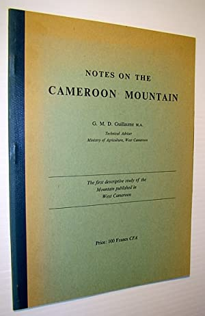 Notes on the Cameroon Mountain