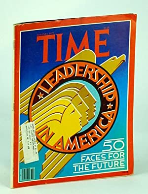 Time Magazine (Canadian Edition), August (Aug.) 6, 1979: Leadership in America - Fifty Faces for ...