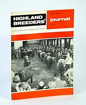 Highland Breeders' Journal - Official Journal of the Highland Cattle Society, June 1976, No. 19