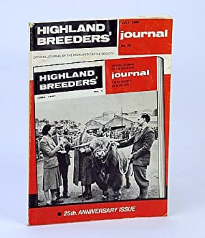 Highland Breeders' Journal - Official Journal of the Highland Cattle Society, July 1986, No. 29