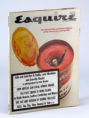Esquire Magazine, May, 1969, Volume LXXI No.: Bunche, Ralph; Cambridge,