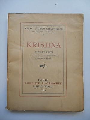 Krishna Légende Hidoue / Nalini Mohon Chatterjee: Nalini Mohon Chatterjee