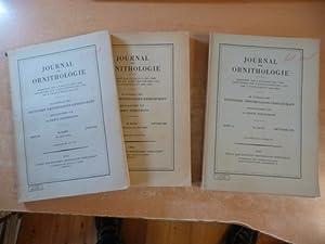 Journal für Ornithologie. Konvolut. Start 1955 bis: Bezzel, Einhard, Stresemann,