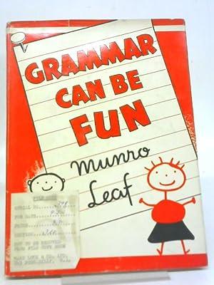 Grammar Can Be Fun: Munro Leaf