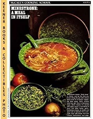 McCall's Cooking School Recipe Card: Soups 4 - Minestrone With Pesto Sauce (Replacement McCall's ...