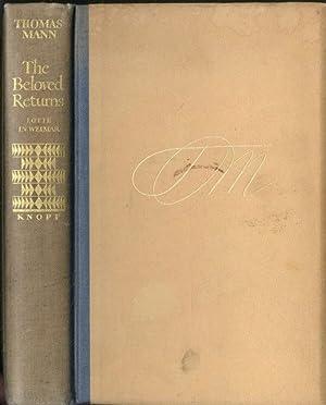 Rare The Beloved Returns by Thomas Mann: Thomas Mann
