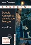 Double assassinat dans la rue morgue ,: Poe, Edgar Allan