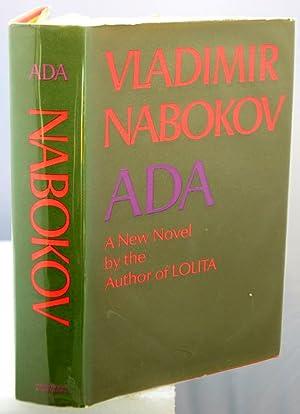 ADA Or Ardor: A Family Chronicle.: Nabokov, Vladimir.