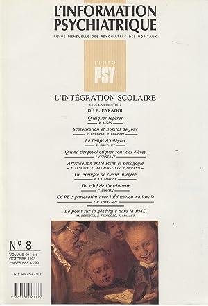 L'Information Psychiatrique - Revue mensuelle des Psychiatres: R. Misès, R.
