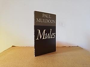 Mules.: MULDOON, Paul