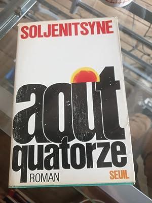 Août quatorze ( Prix nobel de littérature: Alexandre Soljénitsyne