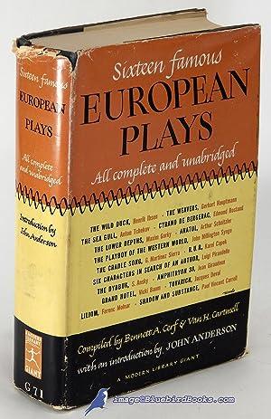 Sixteen Famous European Plays (Modern Library Giant: CERF, Bennett; CARTMELL,