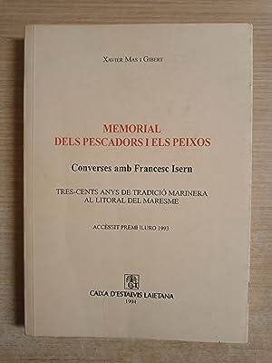 MEMORIAL DELS PESCADORS I ELS PEIXOS -: Mas i Gibert,