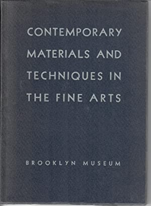 Handbook of Contemporary Materials and Techniques in the Fine Arts