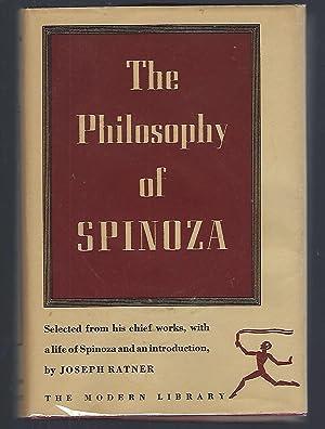 The Philosophy of Spinoza: Spinoza; Ratner, Joseph,