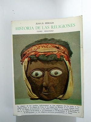 Historia de las religiones II: Juan B. Bergua