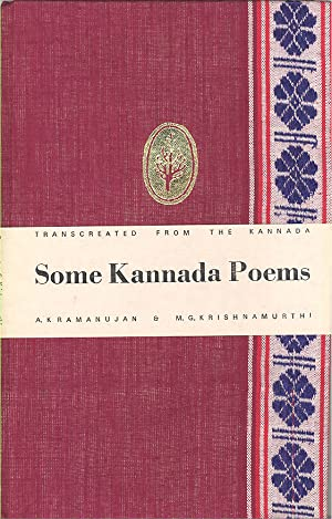 Seller image for Some Kannada Poems for sale by PERIPLUS LINE LLC
