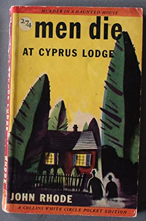 MEN DIE AT CYPRUS LODGE (Canadian Collins White Circle # 274)