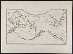 "Rare ""Lost"" Captain Cook Chart: Chart of the N.W. Coast of America and the N.E. Coast of Asia, Ex..."
