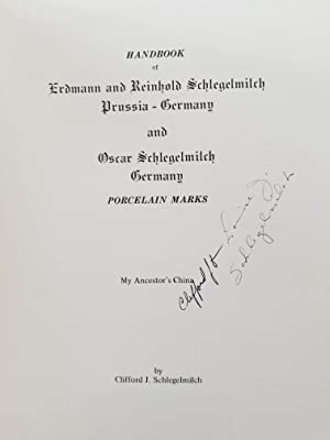 R. S. Prussia - Handbook of Erdmann and Reinhold Schlegelmilch Prussia - Germany and Oscar Schleg...