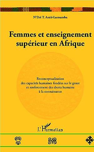 Femmes et enseignement supérieur en Afrique: N'Dri T., Assié-Lumumba