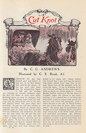 Cut Knot (short story). An original article from the Strand Magazine, 1911.