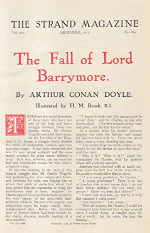 The Fall of Lord Barrymore (short story). An original article from the Strand Magazine, 1912.