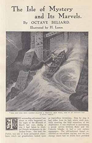 The Isle of Mystery & its Marvels (short story). An original article from the Strand Magazine, 1911.