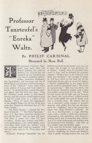 Professor Tanzteufel's Eureka Waltz (dance). An original article from the Strand Magazine, 1912.