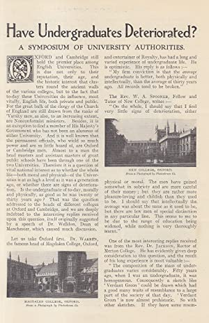 New College, Oxford ; Magdalen College ; Corpus Christi College ; Merton College & more. How Unde...