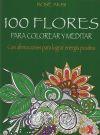 100 Flores para colorear y meditar: Akisi, Rose