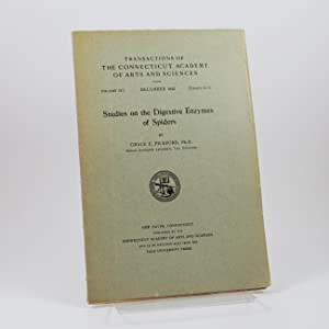 """Studies on the Digestive Enzymes of Spiders"" [published in] Transactions of the Connecticut Acad..."