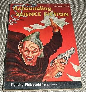 Bild des Verkäufers für Astounding Science Fiction for April 1954 zum Verkauf von biblioboy
