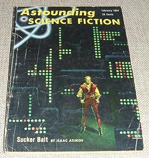 Bild des Verkäufers für Astounding Science Fiction for February 1954 zum Verkauf von biblioboy