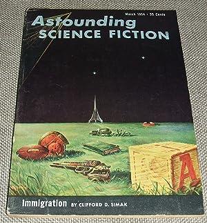 Bild des Verkäufers für Astounding Science Fiction for March 1954 zum Verkauf von biblioboy