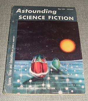 Bild des Verkäufers für Astounding Science Fiction for May 1953 zum Verkauf von biblioboy