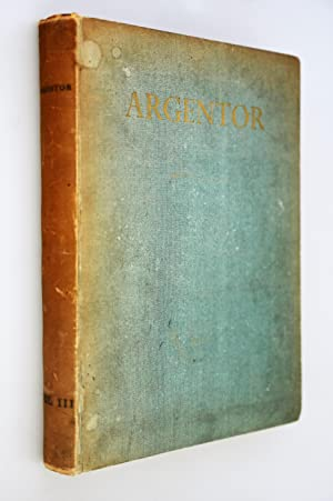 Argentor Volume III No 1